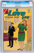 Silver Age (1956-1969):Romance, I Love You #67 (Charlton, 1967) CGC NM+ 9.6 Off-white to whitepages....