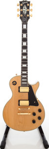 Musical Instruments:Electric Guitars, 1978 Gibson Les Paul Custom Blonde Solid Body Electric Guitar, Serial # 70798562. ...