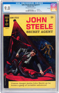 Silver Age (1956-1969):Adventure, John Steele Secret Agent #1 File Copy (Gold Key, 1964) CGC VF/NM 9.0 Off-white to white pages....