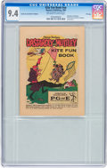 Bronze Age (1970-1979):Miscellaneous, Kite Fun Book #nn Dastardly and Muttley - File Copy (WesternPublishing, 1969) CGC NM 9.4 Off-white to white pages....