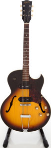 Musical Instruments:Electric Guitars, Late 1960s Gibson ES-125DC Sunburst Archtop Electric Guitar, Serial # 051369. ...