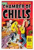 Golden Age (1938-1955):Horror, Chamber of Chills #7 (Harvey, 1952) Condition: FN/VF....
