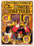 Golden Age (1938-1955):Classics Illustrated, Classic Comics #1 The Three Musketeers - Original Edition(Gilberton, 1941) Condition: FR....