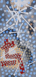 Fine Art - Painting, American:Contemporary   (1950 to present)  , GORDON ONSLOW FORD (American, 1912-2003). Stars and Dots,1972. Acrylic on masonite. Sight: 17-1/2 x 8-1/4 inches (44.5 ...