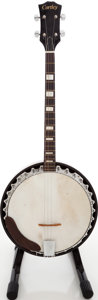 Musical Instruments:Banjos, Mandolins, & Ukes, 1970s Cortley Natural Tenor Banjo. ...