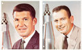 Autographs:Celebrities, Mercury Seven Astronauts: Signed Color Photos of Schirra and Slayton from the Personal Collection of NASA Flight Controller Ma... (Total: 2 Items)
