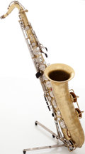 Musical Instruments:Horns & Wind Instruments, Martin Imperial Brass Tenor Saxophone, Serial # 305567. ...