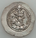 Ancients:Oriental, Ancients: SASANIAN KINGDOM. Yazdgard II (AD 438-457). AR drachm (4.17 gm)....