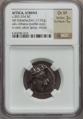 Ancients:Greek, Ancients: Athens. Ca. 353-294 BC. AR tetradrachm (23mm, 17.02 gm,8h). ...