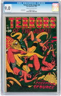Golden Age (1938-1955):Horror, Terrors of the Jungle #20 (Star Publications, 1952) CGC VF/NM 9.0Cream to off-white pages....