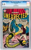 Silver Age (1956-1969):Science Fiction, Tales of the Unexpected #37 (DC, 1959) CGC VF 8.0 White pages....