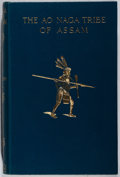 Books:World History, William Carlson Smith. INSCRIBED. The Ao Naga Tribe of Assam. Macmillan, 1925. First edition, first printing. ...