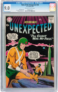 Golden Age (1938-1955):Science Fiction, Tales of the Unexpected #38 (DC, 1959) CGC VF/NM 9.0 Off-white towhite pages....