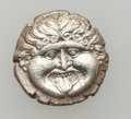 Ancients:Ancient Lots  , Ancients: MACEDON - THRACE. Lot of two (2) AR hemidrachms.... (Total: 2 coins)