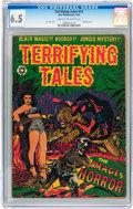 Golden Age (1938-1955):Horror, Terrifying Tales #12 (Star Publications, 1953) CGC FN+ 6.5 Cream tooff-white pages....