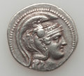 Ancients:Ancient Lots  , Ancients: ATTICA. Athens. Lot of two (2) AR tetradrachms.... (Total: 2 coins)