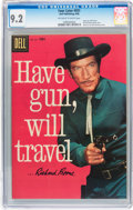 Silver Age (1956-1969):Western, Four Color #931 Have Gun, Will Travel (Dell, 1958) CGC NM- 9.2Off-white to white pages....