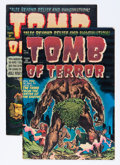 Golden Age (1938-1955):Horror, Tomb of Terror #1 and 4 File Copy Group (Harvey, 1952).... (Total:2 Comic Books)