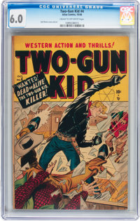 Two-Gun Kid #4 (Marvel, 1948) CGC FN 6.0 Cream to off-white pages