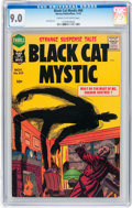 Silver Age (1956-1969):Horror, Black Cat Mystic #60 (Harvey, 1957) CGC VF/NM 9.0 Cream tooff-white pages....