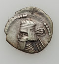 Ancients:Ancient Lots  , Ancients: PARTHIAN KINGDOM - INDO-SCYTHIANS. Lot of three (3) ARdrachms.... (Total: 3 coins)