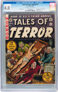 Golden Age (1938-1955):Horror, Tales of Terror Annual #3 (EC, 1953) CGC VG 4.0 Off-white to whitepages....