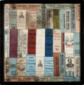 Political:Ribbons & Badges, Grover Cleveland: New England Ribbon Assemblage. ...