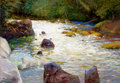 Fine Art - Painting, American:Contemporary   (1950 to present)  , RAY VINELLA (American, b. 1933). Trout Stream. Oil on canvas. 42 x 60 inches (106.7 x 152.4 cm). Signed lower right: R...