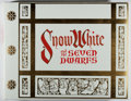 Books:Art & Architecture, [Walt Disney]. Snow White and the Seven Dwarfs. Circle Fine Art, 1978. Limited to 9,500 numbered copies. Mild ru...