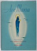 Books:Music & Sheet Music, [Walt Disney]. Rachel Field. Ave Maria. Random House, 1940. Later impression. Minor toning and rubbing. Very good....