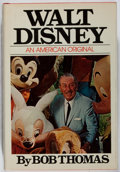 Books:Biography & Memoir, [Walt Disney]. Bob Thomas. Walt Disney. Simon and Schuster, 1976. First edition, first printing. Toning with som...