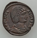 Ancients:Ancient Lots  , Ancients: ROMAN EMPIRE. Aurelian and Helena, mother of Constantine.Lot of two (2) Late Roman coins. ... (Total: 2 coins)