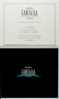 Books:Art & Architecture, [Walt Disney]. SIGNED/LIMITED. Fantasia 2000. Disney, 2000. First edition, first printing. Limited to 1000 numbere...