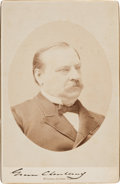 Autographs:U.S. Presidents, Grover Cleveland Photograph Signed....