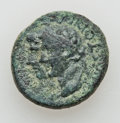Ancients:Roman Provincial , Ancients: BITHYNIA - LYDIA. Germanicus - Tiberius. Lot of three (3)rare Æ.... (Total: 3 items)