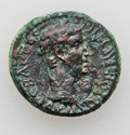 Ancients:Roman Provincial , Ancients: AEOLIS. Aegae. Claudius (AD 41-54). Æ 21 (6.17 gm)....