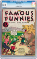 Platinum Age (1897-1937):Miscellaneous, Famous Funnies #8 (Eastern Color, 1935) CGC VG 4.0 Off-whitepages....