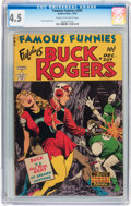 Golden Age (1938-1955):Science Fiction, Famous Funnies #209 (Eastern Color, 1953) CGC VG+ 4.5 Cream tooff-white pages....