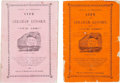 Political:Small Paper (pre-1896), Abraham Lincoln: Two Anti-Lincoln Booklets from 1864....