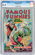 Golden Age (1938-1955):Science Fiction, Famous Funnies #210 (Eastern Color, 1954) CGC VG 4.0 Off-white towhite pages....