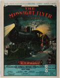 Books:Music & Sheet Music, [Sheet Music]. Frederick W. Hager. The Midnight Flyer. Paull, 1903. Covers separated. Minor toning and wear. Covers ...