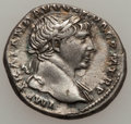 Ancients:Ancient Lots  , Ancients: ROMAN EMPIRE. Trajan - Marcus Aurelius. Lot of two (2) ARdenarii.... (Total: 2 coins)
