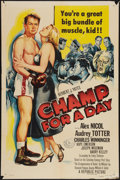 """Movie Posters:Sports, Champ for a Day (Republic, 1953). One Sheet (27"""" X 41""""). Sports.. ..."""