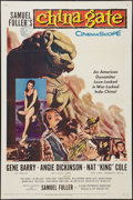 "Movie Posters:War, China Gate (20th Century Fox, 1957). One Sheet (27"" X 41""). War....."