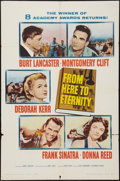 "Movie Posters:Academy Award Winners, From Here to Eternity (Columbia, R-1958). One Sheet (27"" X 41"").Academy Award Winners.. ..."