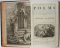 Books:Literature Pre-1900, Matthew Prior. Poems on Several Occasions. Tonson, 1718.[42], 506, [6] pages. Contemporary tooled leather with ...