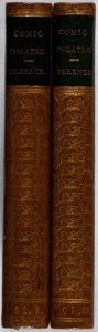 Books:Literature Pre-1900, Terence. George Colman [translator]. The Comedies ofTerence. Vol. I & II. Becket, et al., 1768. Secondedition.... (Total: 2 Items)