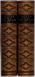Books:Biography & Memoir, Thomas Jefferson Hogg. The Life of Percy Bysshe Shelley.Vol. I & II. Moxon, 1858. First edition, first printing...(Total: 2 Items)