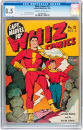Golden Age (1938-1955):Superhero, Whiz Comics #22 (Fawcett Publications, 1941) CGC VF+ 8.5 Cream to off-white pages....
