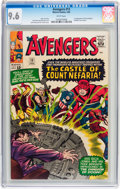 Silver Age (1956-1969):Superhero, The Avengers #13 (Marvel, 1965) CGC NM+ 9.6 White pages....